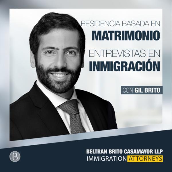 Green Card por Matrimonio, La Entrevista en Inmigración
